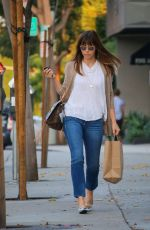JESSICA BIEL Out and About in Los Angeles 09/22/2016