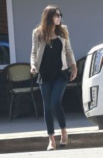 JESSICA BIEL Out for Lunch at C&M Cafe in West Hollywood 09/08/2016