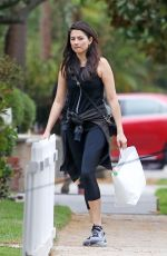 JESSICA GOMES Out in Beverly Hills 09/19/2016