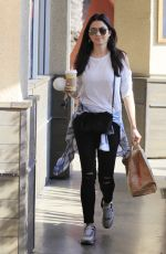 JESSICA GOMEZ Out for Lunch in Los Angeles 09/21/2016