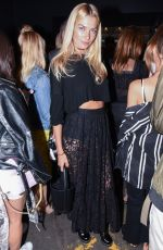 JESSICA HART at Marchesa Spring/Summer 2017 Fashion Show at NYFW 09/14/2016
