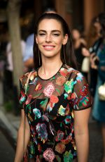 JESSICA LOWNDES at Cynthia Rowley Fashion Show in New York 09/08/2016