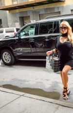 JESSICA SIMPSON Leaving Her Hotel 09/20/2016
