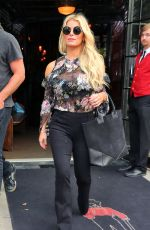 JESSICA SIMPSON Out and About in New York 09/21/2016