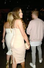 JESSICA WRIGHT at Her Birthday Party at 100 Wardour Club in London 09/18/2016