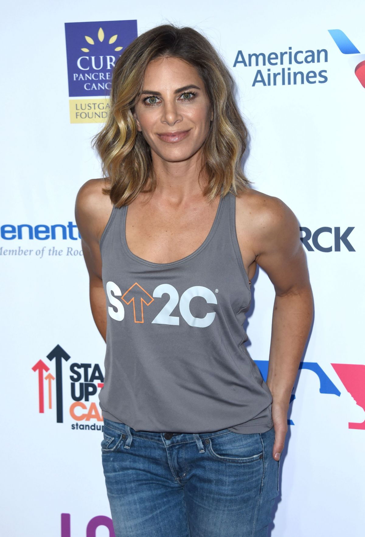 JILLIAN MICHAELS at 5th Biennial Stand Up To Cancer in Los Angeles 09/09/2016