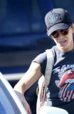 JILLIAN MICHAELS Out and About in Malibu 09/04/2016
