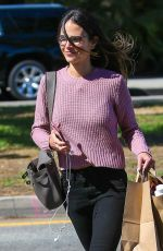 JORDANA BREWSTER Out Shopping in Brentwood 09/14/2016