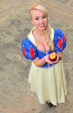 JORGIE PORTER at Snow White Panto photocall 06/09/2016