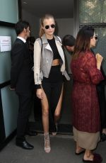 JOSEPHINE SKRIVER Out and About in Milan 09/22/2016
