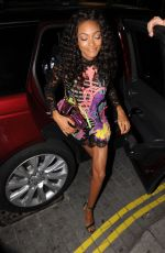 JOURDAN DUNN at Love Magazine Party at Lou Lou's in Mayfair 09/19/2016