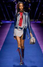 JOURDAN DUNN at Versace Spring/Summer 2017 Fashion Show at Milan Fashion Week