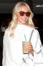 JULIANNE HOUGH at LAX Airport in Los Angeles 09/08/2016