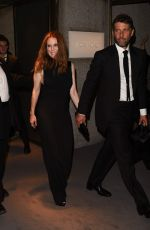 JULIANNE MOORE at Tom Ford Fashion Show at New York Fashion Week 09/07/2016