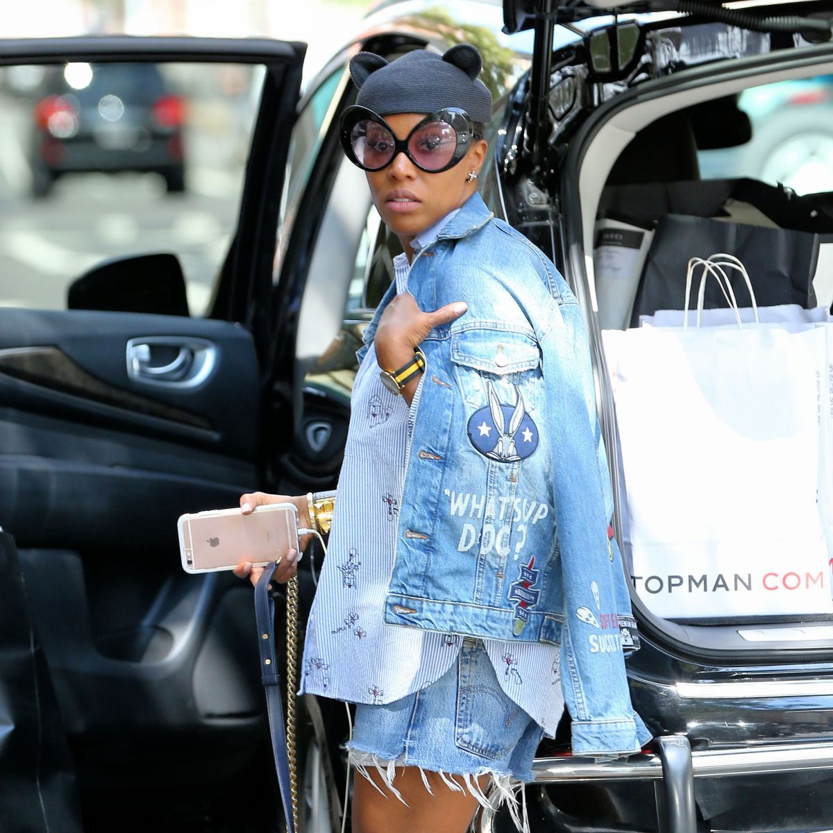 3a0e9b545985 JUNE AMBROSE Leaves Beyonce s Birthday Party in New York 09 05 2016 ...