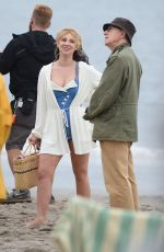 JUNO TEMPLE on the Set of Untitled Woody Allen Movie in New York 09/19/2016