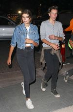 KAIA GERBER Leaves Kiwanis Chili Cook Off in Malibu 09/02/2016
