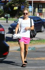 KALEY CUOCO Arrives at Power Yoga Class in Studio City 09/26/2016