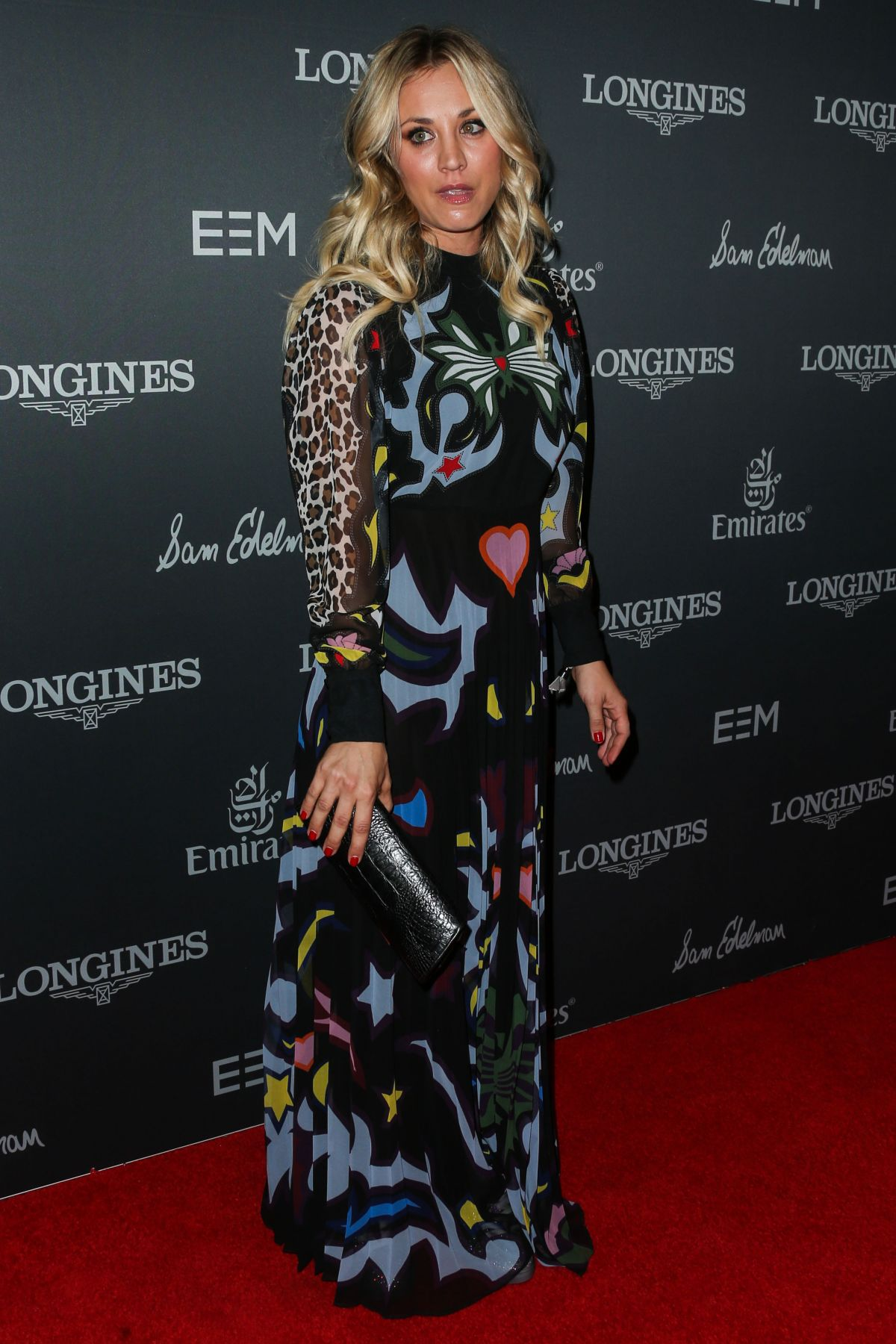 Kaley Cuoco At Longines Masters Of Los Angeles Long Beach Convention Center In