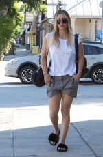KALEY  CUOCO Leaves Workout in Los Angeles 09/26/2016