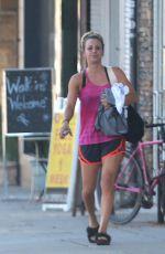 KALEY CUOCO Leaves Yoga Class in Studio City 09/15/2016