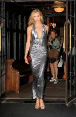 KARLIE KLOSS Leaves Bowery Hotel in New York 09/07/2016