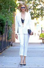 KARLIE KLOSS Leaves Hugo Boss Fashion Show in New York 09/14/2016
