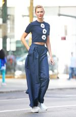 KARLIE KLOSS Out in New York 09/12/2016