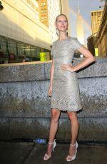 KAROLINA KURKOVA at Marchesa Fashion Show at New York Fashion Week 09/14/2016