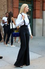 KAROLINA KURKOVA Out and About in New York 09/12/2016