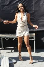 KARREUCHE TRAN on the Set of Extra in Universal City 09/06/2016