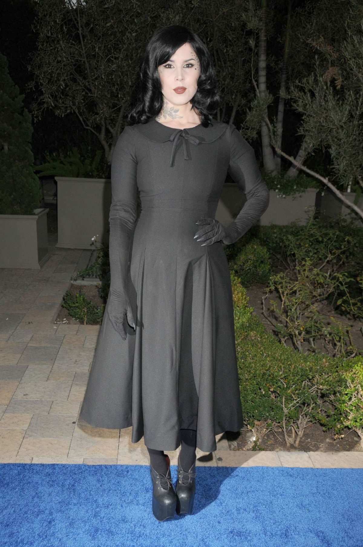 KAT VON D at Mercy for Animals Hidden Heroes Gala 2016 in Los Angeles 09/11/2016