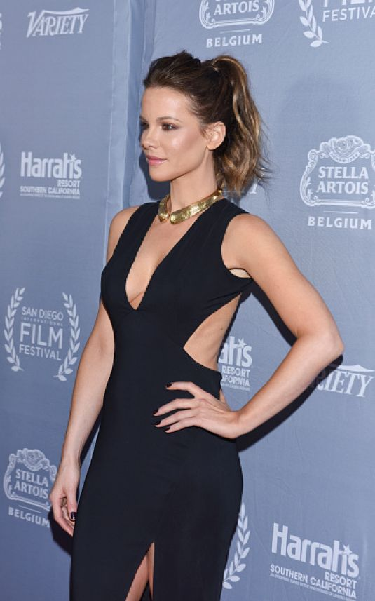 KATE BECKINSALE at Cinema Vanguard Award in San Diego 09/29/2016