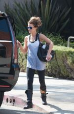 KATE BECKINSALE Out and Abour in Los Angeles 09/13/2016