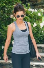 KATE BECKINSALE Out and About in Los Angeles 09/06/2016
