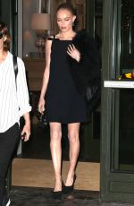 KATE BOSWORTH Leaves Her Hotel in New York 09/27/2016