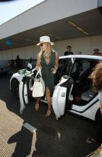KATE HUDSON at LAX Airport in Los Angeles 09/17/2016