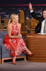 KATE HUDSON at Tonight Show Starring Jimmy Fallon in New York 09/27/2016