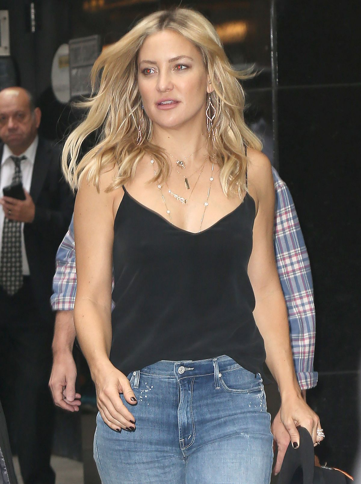 KATE HUDSON Out and About in New York 09/28/2016