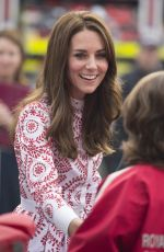 KATE MIDDLETON at Canadian Coast Guard and Vancouver First Responders Event at Kitsilano Coast Guard Station in Vancouver 09/25/2016