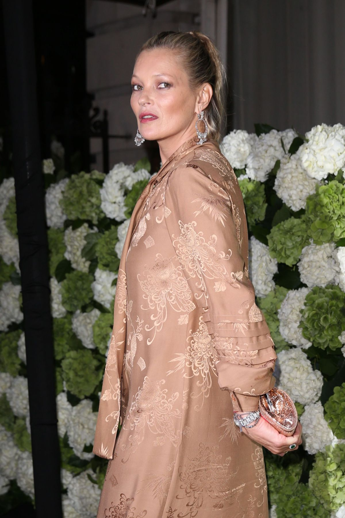 KATE MOSS at The Business of Fashion #bof500 Gala Dinner in London 09/19/2016