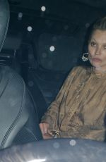 KATE MOSS Leave Chiltern Firehouse in London 09/20/2016