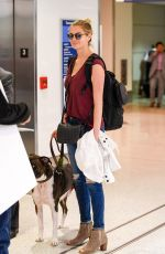 KATE UPTON at LAX Airport in Los Angeles 09/15/2016