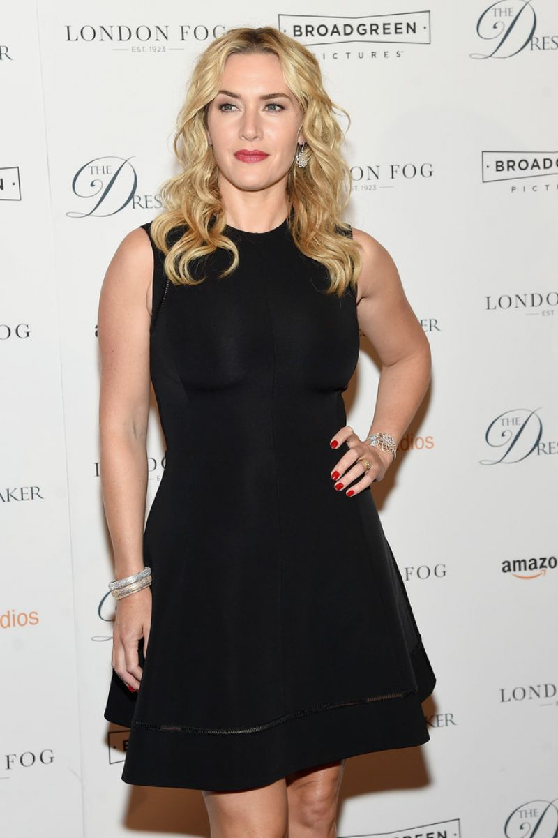 KATE WINSLET at 'The D...