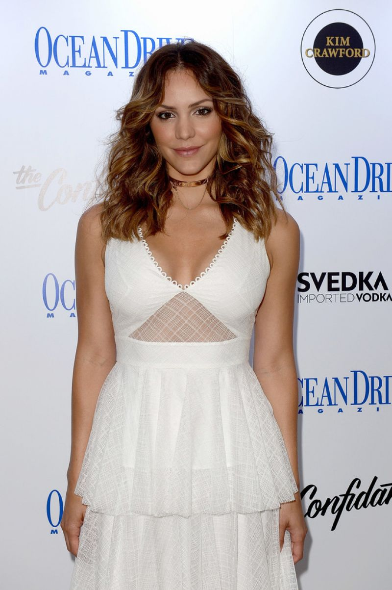 KATHARINE MCPHEE Celebrates September Cover of Ocean Drive Magazine in Miami 09/23/2016