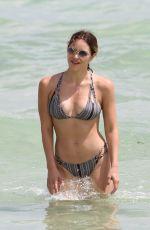 KATHARINE MCPHEE in Bikini at a Beach in Miami 09/25/2016
