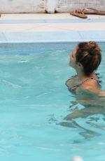 KATHARINE MCPHEE in Bikini at a Pool in Miami 09/24/2016