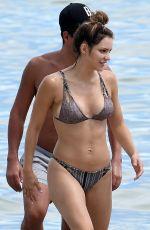 KATHARINE MCPHEE in Bikini on the Beach in Miami 09/23/2016