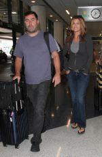 KATHY IRELAND at Los Angeles International Airport 09/02/2016