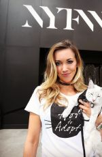KATIE CASSIDY Out and About New York Fashion Week 09/09/2016